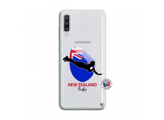 Coque Samsung Galaxy A70 Coupe du Monde Rugby- Nouvelle Zélande
