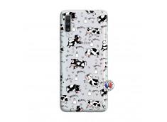 Coque Samsung Galaxy A70 Cow Pattern