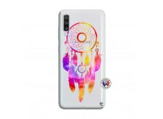 Coque Samsung Galaxy A70 Dreamcatcher Rainbow Feathers