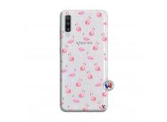 Coque Samsung Galaxy A70 Flamingo