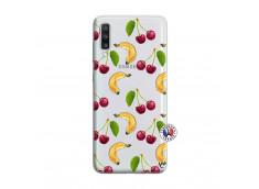 Coque Samsung Galaxy A70 Hey Cherry, j'ai la Banane