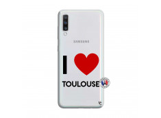 Coque Samsung Galaxy A70 I Love Toulouse
