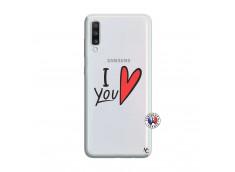 Coque Samsung Galaxy A70 I Love You