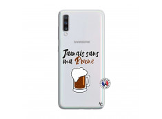 Coque Samsung Galaxy A70 Jamais Sans Ma Brune