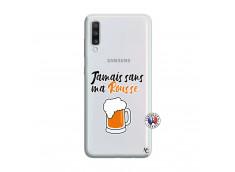 Coque Samsung Galaxy A70 Jamais Sans Ma Rousse