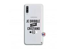 Coque Samsung Galaxy A70 Je Dribble Comme Cristiano