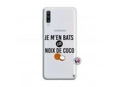 Coque Samsung Galaxy A70 Je m'en bats Les Noix De Coco
