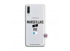 Coque Samsung Galaxy A70 Marseillais à Vie