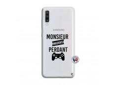 Coque Samsung Galaxy A70 Monsieur Mauvais Perdant