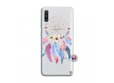 Coque Samsung Galaxy A70 Multicolor Watercolor Floral Dreamcatcher