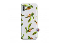 Coque Samsung Galaxy A70 Tortue Géniale