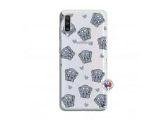 Coque Samsung Galaxy A70 Petits Elephants
