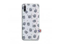 Coque Samsung Galaxy A70 Petits Hippos