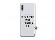 Coque Samsung Galaxy A70 Rien A Foot Allez Le Portugal