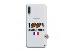 Coque Samsung Galaxy A70 100% Rugbyman