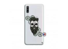 Coque Samsung Galaxy A70 Skull Hipster