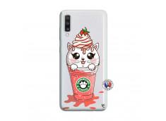Coque Samsung Galaxy A70 Catpucino Ice Cream