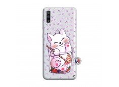 Coque Samsung Galaxy A70 Smoothie Cat