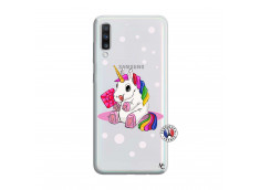 Coque Samsung Galaxy A70 Sweet Baby Licorne
