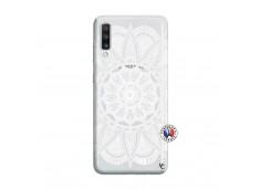 Coque Samsung Galaxy A70 White Mandala