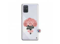 Coque Samsung Galaxy A71 Bouquet de Roses