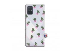Coque Samsung Galaxy A71 Cactus Pattern