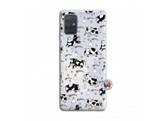 Coque Samsung Galaxy A71 Cow Pattern