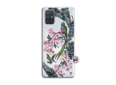 Coque Samsung Galaxy A71 Flower Birds