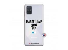 Coque Samsung Galaxy A71 Marseillais à Vie