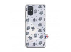 Coque Samsung Galaxy A71 Petits Hippos