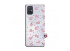 Coque Samsung Galaxy A71 Petits Moutons