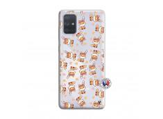Coque Samsung Galaxy A71 Petits Renards