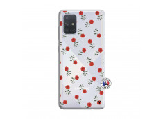 Coque Samsung Galaxy A71 Rose Pattern