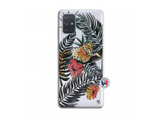 Coque Samsung Galaxy A71 Leopard Tree