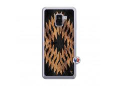 Coque Samsung Galaxy A8 2018 Aztec One Motiv Translu