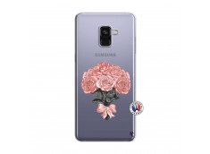 Coque Samsung Galaxy A8 2018 Bouquet de Roses