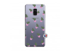 Coque Samsung Galaxy A8 2018 Cactus Pattern