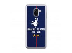Coque Samsung Galaxy A8 2018 Champions Du Monde 1998 2018 Transparente