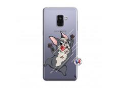 Coque Samsung Galaxy A8 2018 Dog Impact