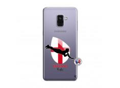 Coque Samsung Galaxy A8 2018 Coupe du Monde Rugby-England