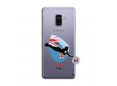 Coque Samsung Galaxy A8 2018 Coupe du Monde Rugby Fidji