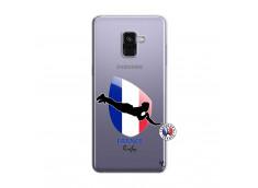 Coque Samsung Galaxy A8 2018 Coupe du Monde de Rugby-France