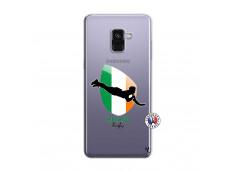 Coque Samsung Galaxy A8 2018 Coupe du Monde Rugby-Ireland