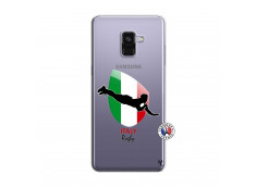 Coque Samsung Galaxy A8 2018 Coupe du Monde Rugby-Italy