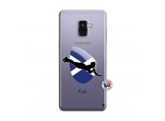 Coque Samsung Galaxy A8 2018 Coupe du Monde Rugby-Scotland