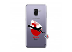 Coque Samsung Galaxy A8 2018 Coupe du Monde Rugby-Tonga