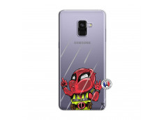 Coque Samsung Galaxy A8 2018 Dead Gilet Jaune Impact