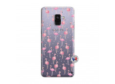 Coque Samsung Galaxy A8 2018 Flamingo