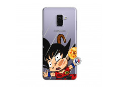 Coque Samsung Galaxy A8 2018 Goku Impact