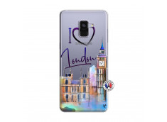 Coque Samsung Galaxy A8 2018 I Love London